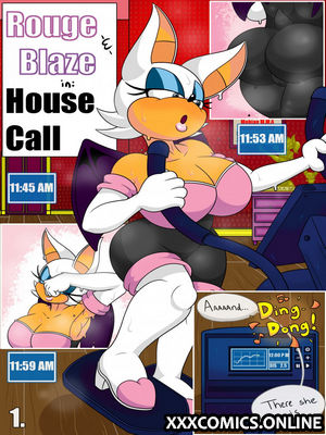 Rouge and Blaze in: House Call