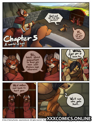 A Tale of Tails 5 - A World of Hurt